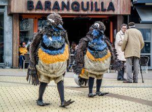Tsjilp straattheater Vogeltjes? Vogels!