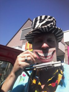 Haha Straatmuzikant Ben Jur
