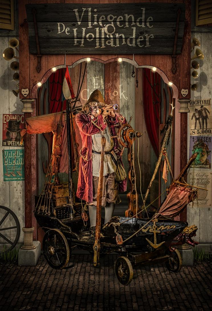 Der Fliegende Hollander -Strssentheater El Capstok