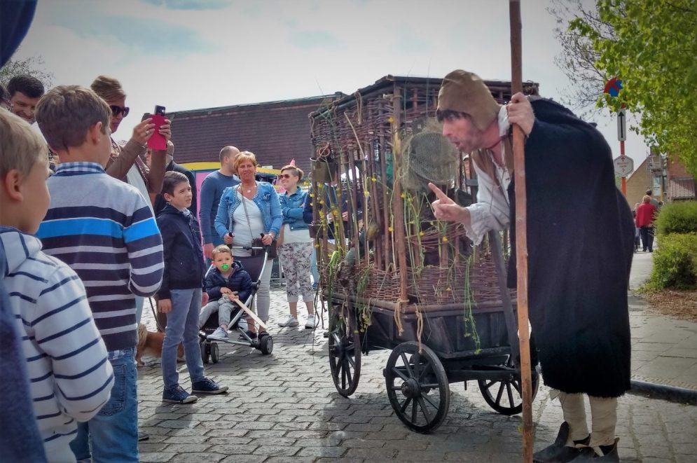 't Wesen van Saeftinghe middeleeuws straattheater - El Capstok