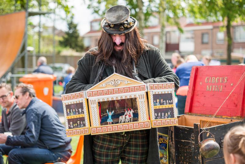 De speelman straattheater El Capstok