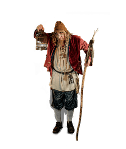 Straattheater act Tovenaar Runewold - El Capstok