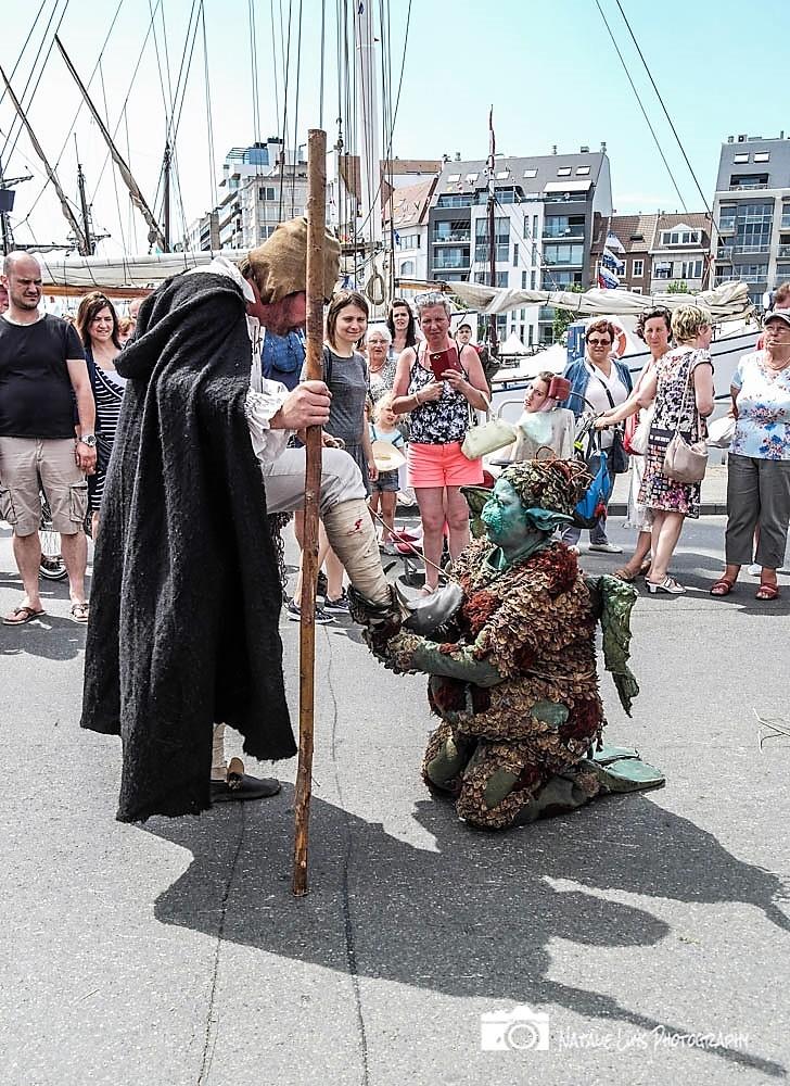 't Wesen van Saeftinghe middeleeuws straattheater