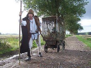 't Wesen van Saeftinghe middeleeuws mobiel straattheater