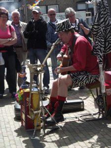 Straatmuzikant Ben Jur - El Capstok