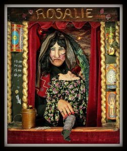 Straattheater Rosalie voorspelt