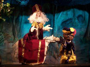 Sinterklaas poppentheater