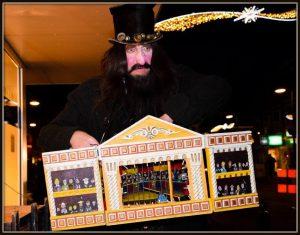 Kerst act de speelman Kerst Circus Mini