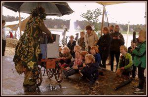 Mini sprookjestheater mobiel poppentheater