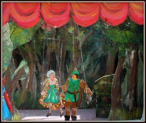 mobiel poppentheater roodkapje straattheater