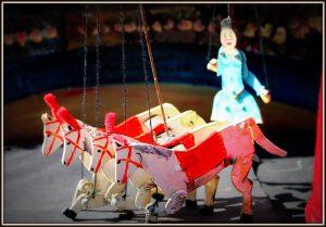 Mobiel poppentheater de speelman Circus Mini